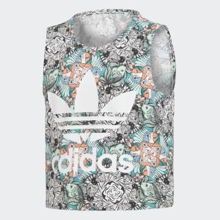 Camiseta sin Mangas Zoo MULTICOLOR/WHITE D98912