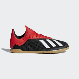 X Tango 18.3 Indoor Shoes Core Black / Off White / Active Red BB9395