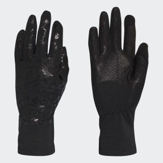 Guantes Run Black / Reflective Silver CZ5862