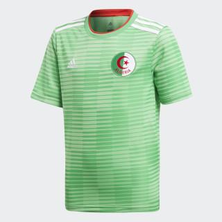 Maillot Algérie Extérieur Semi Flash Green/White/Red CF4037