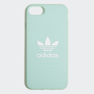Fabric Snap Case iPhone 8 Clear Mint / White CK6180