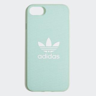 Fabric Snap iPhone 8 Schutzhülle Clear Mint / White CK6180