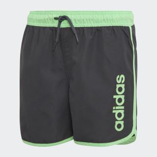 Badeshorts Carbon / Shock Lime DJ2157