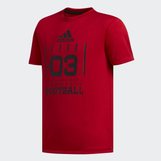 Game Graphic Tee Scarlet CK5213