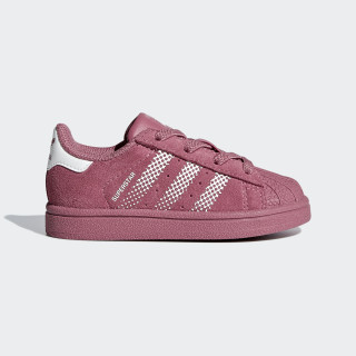 Superstar sko Pink / Cloud White / Trace Maroon B37286