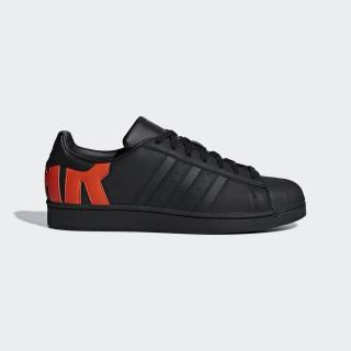 Superstar Shoes Core Black / Core Black / Bold Orange B37981