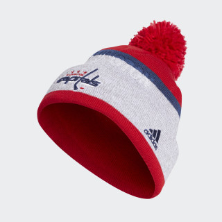 Capitals Team Cuffed Pom Beanie Multi CX3125