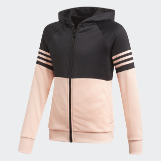 Hooded Track Suit Black / Haze Coral DI0165