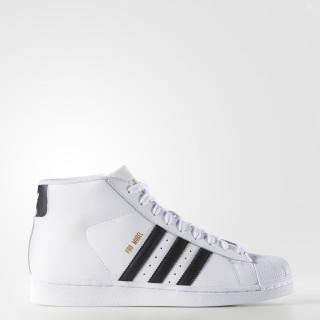 Pro Model Shoes Cloud White / Core Black / Cloud White S85956