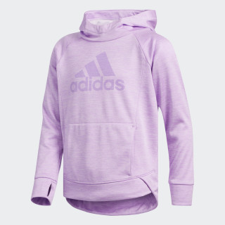 Push It Pullover Hoodie Clear Lilac CK5137