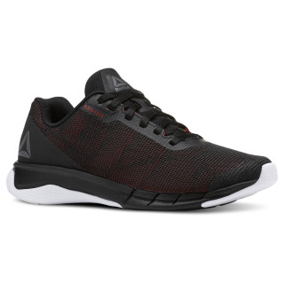 Reebok Flexweave® Run Black / White / Primal Red CN5100