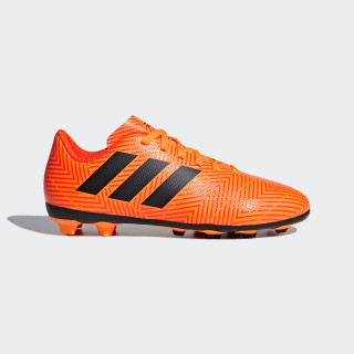Chuteira Nemeziz 18.4 Fxg ZEST/CORE BLACK/SOLAR RED DB2355