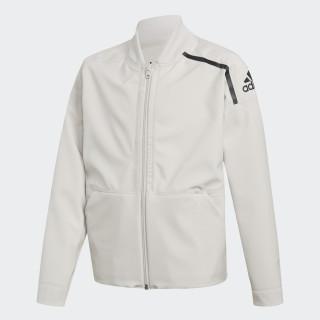 adidas Z.N.E. Reversible Bomber Jacket White/Storm Heather/Chalk Pearl/Chalk Pearl/Black CF6675