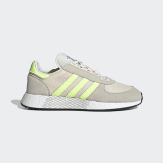 Marathon Tech Shoes Clear Brown / Hi-Res Yellow / Ecru Tint G27418