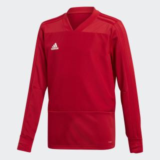Camiseta manga larga entrenamiento Condivo 18 Player Focus Power Red/White BS0518