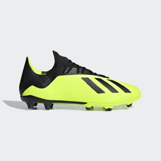 X 18.3 Firm Ground Boots Solar Yellow / Core Black / Ftwr White DB2183