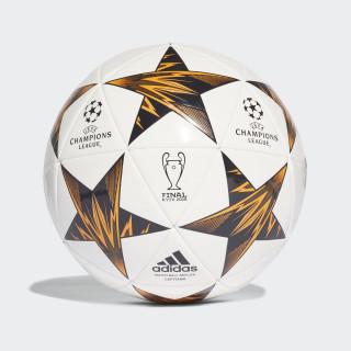 Balón Capitano UCL Finale Kiev WHITE/BLACK/TRACE OLIVE F17/CORE BLACK BRIGHT ORANGE CF1199