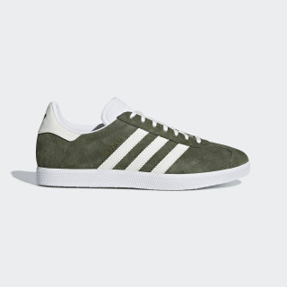 Chaussure Gazelle Base Green / Off White / Ftwr White B41649