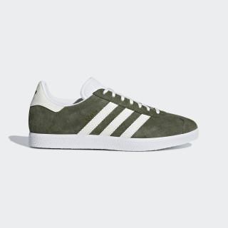 Zapatilla Gazelle Base Green / Off White / Ftwr White B41649
