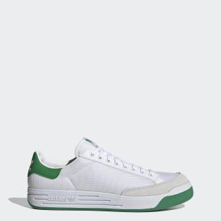Rod Laver Shoes Cloud White / Cloud White / Green G99863