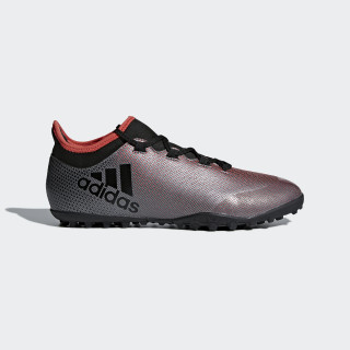 X Tango 17.3 TF Fußballschuh Grey/Core Black/Real Coral AH2334