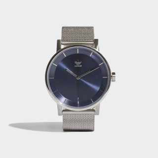 DISTRICT_M1 Watch Silver Metallic / Collegiate Navy CJ6325