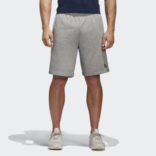 Pantalón corto Essentials 3 bandas Medium Grey Heather/Collegiate Navy BK7469