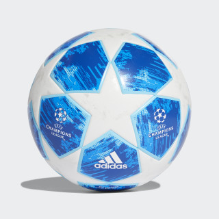 BALL (LAMINATED) FINALE18 TT WHITE/FOOTBALL BLUE/BRIGHT CYAN/COLLEGIATE ROYAL CW4134