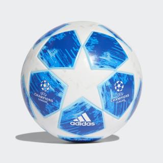 Finale 18 Top Trainingsball White / Football Blue / Bright Cyan / Collegiate Royal CW4134