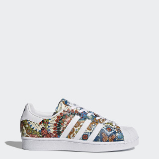 Calzado Superstar FTWR WHITE/FTWR WHITE/NOBLE TEAL S10 BY9178