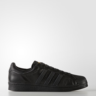 Superstar Boost Shoes Core Black/Gold Metallic BB0186