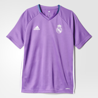 Real Madrid Training Jersey Ray Purple/Crystal White AO3123