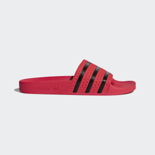 Adilette Slides Real Coral / Core Black / Real Coral CQ3098