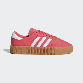 SAMBAROSE Shoes Shock Red / Ftwr White / Gum 2 DB2696