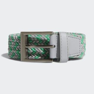 Braided Stretch Belt Hi-Res Green / Grey CY9102