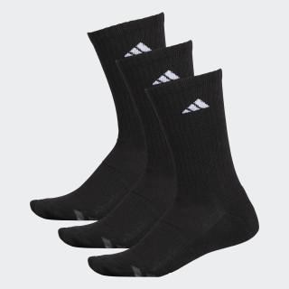Climalite Cushioned Crew Socks 3 Pairs Black / White / Light Onix H77457