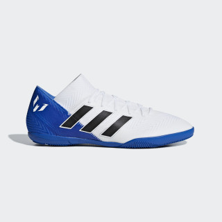 Calzado de Fútbol Nemeziz Messi Tango 18.3 Bajo Techo FTWR WHITE/CORE BLACK/FOOTBALL BLUE DB2223