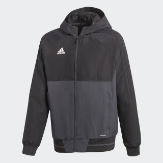 Tiro 17 Presentation Jacket Black/Dark Grey/White AY2857