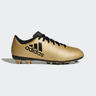 Botas X 17.4 Terreno Flexible TACTILE GOLD MET. F17/CORE BLACK/SOLAR RED CP9013