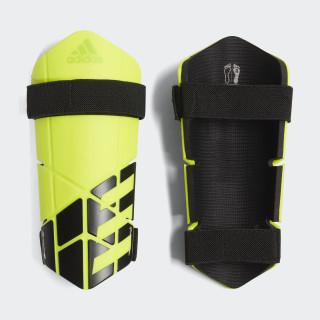 X Lite Shin Guards Solar Yellow / Black CW9719