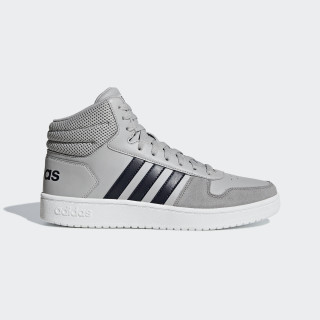 Chaussure Hoops 2.0 Mid Grey Two / Legend Ink / Grey Three B44680