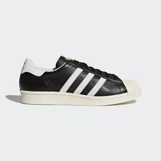 Tenis Superstar 80s BLACK 1/WHITE/CHALK 2 G61069