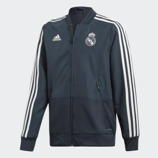 Giacca da rappresentanza Real Madrid Blue / Black / Core White CW8637