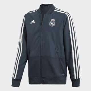 Real Madrid Presentation Jacket Blue / Black / Core White CW8637