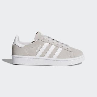 Zapatilla Campus Grey One/Footwear White/Footwear White BY2376