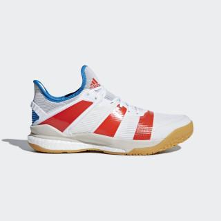 Stabil X Schuh Ftwr White / Solar Red / Bright Blue B22571