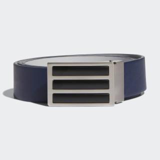3-Stripes Solid Reversible Belt Collegiate Navy / Grey CZ3535