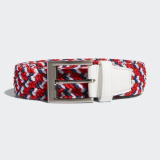 Woven Webbing Belt White DN4240