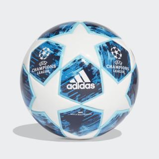 BALL (FOAM CORE) FINALE18 MINI WHITE/BLUE GLOW/SHOCK BLUE/NIGHT INDIGO CW4131