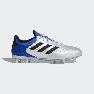 Copa 18.2 FG Fußballschuh Silver Met. / Core Black / Football Blue DB2443